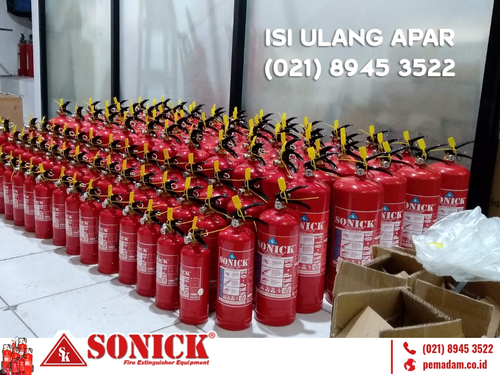 Supplier Pemadam Api Sonick