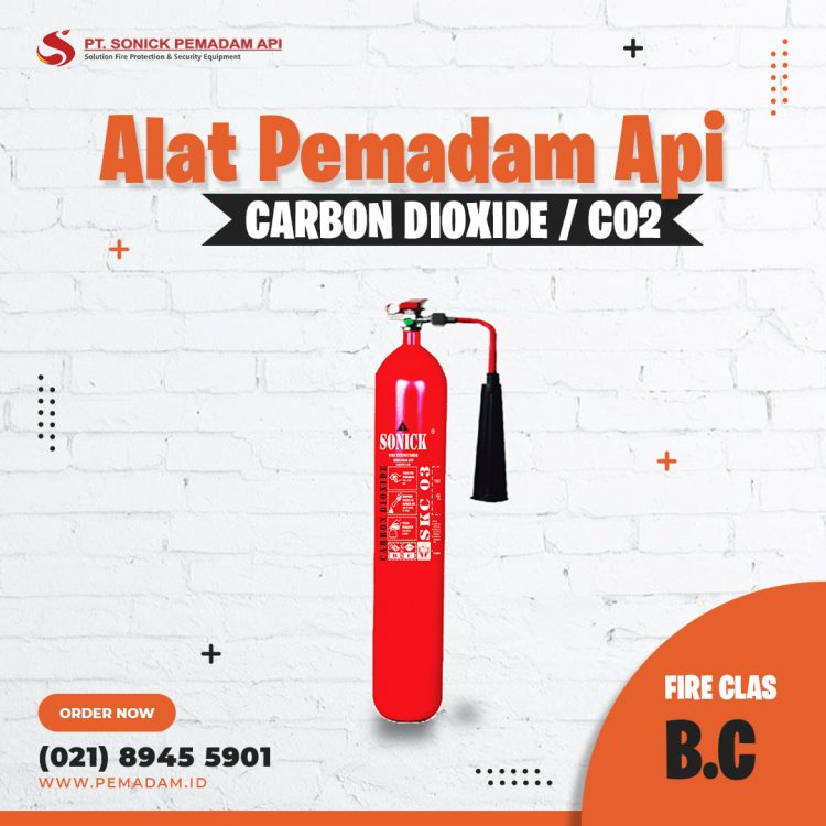 Supplier Alat Pemadam Api Jual Apar Co2
